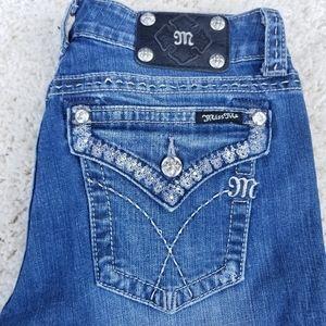 MISS ME Women's jeans JW6094B bootcut size 31
